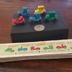 ANTIQUE RARE WORLDS TEENIEST ANCIENT CARS EVER MAD